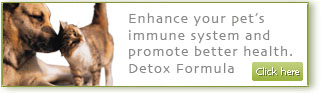 Detox Formula for cats and dogs
